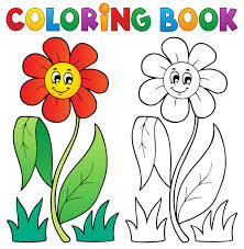 Coloring Book Vector Set 03