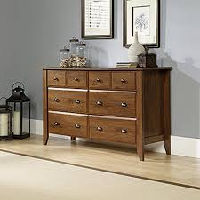 Sauder Harbor View 4 Dresser Salt Oak by Dressers Davinci Kalani Drawer Dresser In Honey Oak Amish