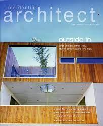 104 Residential Architecture Magazine Architect Robitaillecurtis
