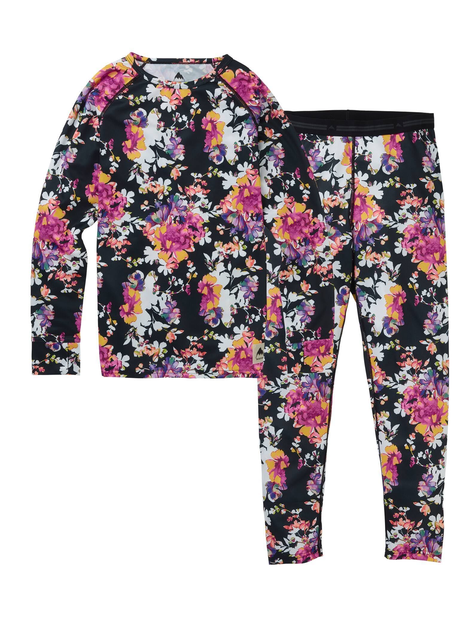 Burton Base Layer Set Kids Secret Garden