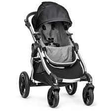 Babyletto Skip Changer Dresser Chestnut And White by Baby Jogger City Select Stroller Silver Frame Black Gray
