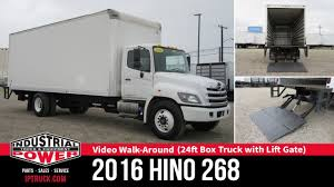 100 Hino Truck Parts 2016 HINO 268 24ft Box With Lift Gate Review