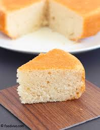 Eggless Vanilla Sponge Cake Recipe with Step by Step s