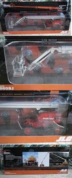 100 Mateco Truck Equipment Construction 180274 Jlg 860Sj Die Cast Model 132 Scale