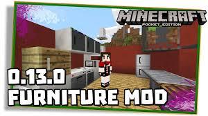 Minecraft PE 0 13 0 FURNITURE MOD