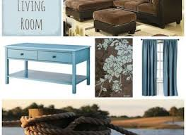 Brown And Teal Living Room by Blue And Brown Living Room Fionaandersenphotography Co