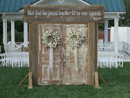Rustic Wedding Doors Rent Rusted Root Rentals Amazing Entrance Setup Of Beautiful