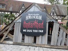 If I Ran The Park Trip Report Busch Gardens Howl o Scream 2015