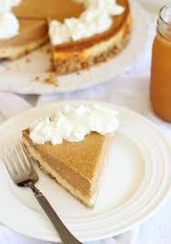 Pumpkin Layer Cheesecake by Double Layer Pumpkin Cheesecake
