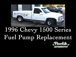 1996 Chevy 1500 Series Pickup Fuel Pump Replacement- Pawlik ... Fuse Panel I Have Lost My Diagram For The Back 2001 Chevy 1500 Wiring Trusted Diagrams Tail Light 1996 Truck Solutions Chevrolet Suburban Schematics Silverado 22 Inch Rims Truckin Magazine Review Amazing Pictures And Images Look Valuable Repair Guides Parts Best Of Tfrithstang Ck User Reviews Cargurus Z71 C1500 Extended Cab Sportside 4x2p10784a