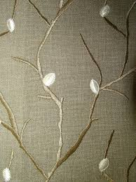 Curtain Fabric John Lewis by Voyage Perry Birch Embroidered Curtain Fabric Diy Pinterest