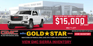 Gold Star Buick GMC In Salinas, CA| Serving Watsonville & Monterey Peach Chevrolet Buick Gmc In Brewton Serving Pensacola Fl 2018 Sierra Buyers Guide Kelley Blue Book 1500 Sle Upgrade To A New For Only 28988 Youtube 3500hd Denali Crew Cab Pickup Clarksville West Point Serves Houston Tx Hertrich Chevy Of Easton Maryland Area Dealer 2017 Pricing For Sale Edmunds Hd Powerful Diesel Heavy Duty Trucks Gold Star Salinas Ca Watsonville Monterey Boston Ma Truck Deals Colonial St Louis Herculaneum Sapaugh Gm Power