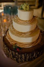 Country Wedding Cake Ideas Rustic Chic Intended For
