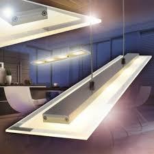 led hängeleuchte design hängele wohn zimmer glas