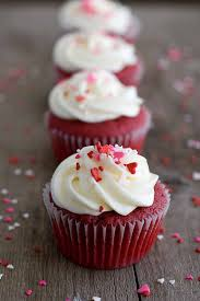 velvet cupcakes with marshmallow cheese frosting