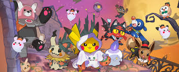 Is Happy Halloween Capitalized by Halloween Pokemon Com