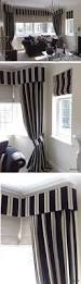 White And Gray Striped Curtains by Best 25 Bay Window Drapes Ideas On Pinterest Bay Window Curtain