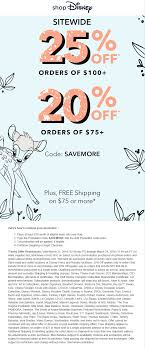 ShopDisney.com Coupons & Savings