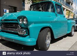 100 Truck Step Up Classic 1958 Chevrolet Apache Side Step Pick Up Truck Stock Photo