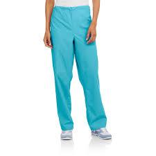 Ceil Blue Scrub Sets by Unisex Scrub Pants With Pockets Walmart Com