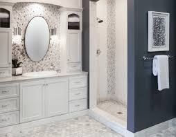 style profile white marble transitional bathroom