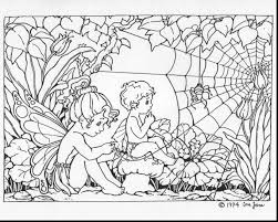 Incredible Adult Fairy Coloring Pages With Free Adults And Mandala