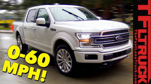 100 Fast Ford Trucks Raptorpowered 2019 F150 Here Is A 060 MPH Sound And More