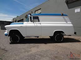 100 1957 Chevy Panel Truck For Sale GMC NAPCO Civil Defense SUPER RARE