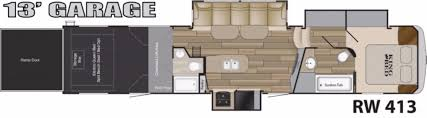 2016 5th Wheel Toy Hauler Floor Plans by New Or Used Toyhauler Campers For Sale Camping World Rv Sales