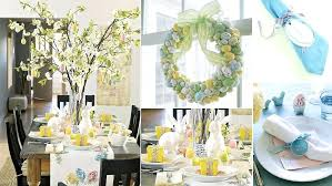 Cool Easter Table Decoration Beautiful Decorations Centerpieces