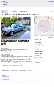 100 Craigslist Dallas Tx Cars And Trucks By Owner At 1800 Would You Side With This MegaMileage 1991 BMW 535i