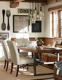 Rustic Dining Table Decor Room Ideas Glamorous Contemporary Surprising C