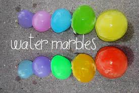 How To Make GIANT WATER MARBLES