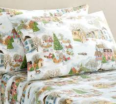 Snow Village Organic Printed Flannel Sheet Set | Pottery Barn CA Bedroom Flannel Sheets Owl Bed Set Snowman Sheet Pottery Barn Ca New Kids Heart Twin Red White Duvet Covers Ikea Capvating Beyond Comforter Sets Target Crib Moose Lodge Plaid Bedding Collection 24 169 Peanuts Holiday Queen 4 Pc Snoopy Cuddl Duds 350thread Count Level 2 Down Full Size Best Collections From Coyuchi For Sale Pink Penguin Whats It