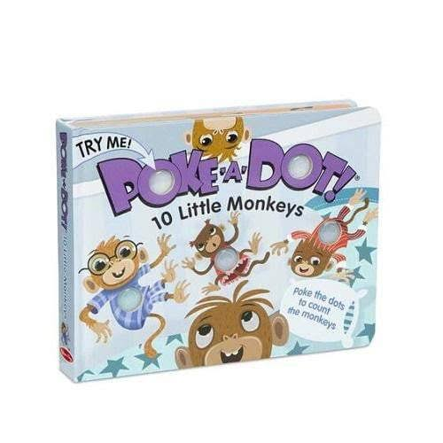 Melissa & Doug Poke-A-Dot Book- 10 Little Monkeys