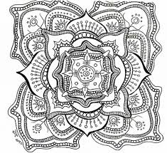 Free Download Coloring Pages Adults No Printable For Downloading Mandala Large Size
