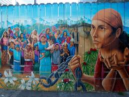 Famous Spanish Mural Artists by Mural On A Fence In The Mission District San Francisco Depicting