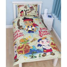 Baby Nursery Archaicfair Jake Amp The Neverland Pirates Bedroom Duvet Covers Curtains Single Double