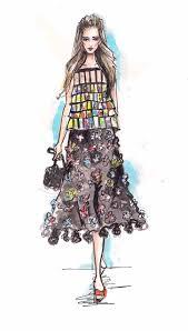 Soubrette Vintage Es Chanel Fashion Sketch Archives Phoenix Week Little Black Dress Challenge Phxweek