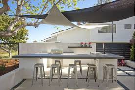 outdoor kitchen island design stainless steel propen gas grill