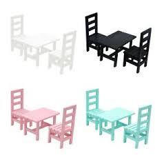 möbel 1 12 puppenhaus miniatur möbel tisch 4 stühle