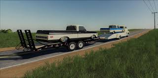 100 48 Chevy Truck Ramp Truck And 71 C10 V 10 FS19 Mods Farming