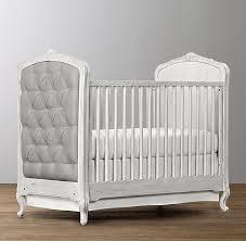 Tufted Crib Antique Grey Mist