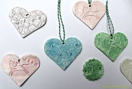 Airdrying Clay Christmas Ornaments