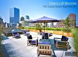 100 Tribeca Roof Loft Luxury Mansion 144 Duane Street New York NY