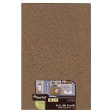 quartet frameless modular bulletin board tile 11 x