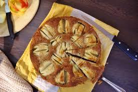 Kuchen Mit Flã Ssigem Kern Vollwertiger Apfelkuchen Vegan Ohne Zucker Bäckerei