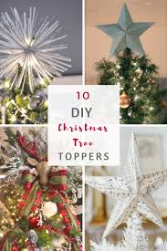 Christmas Tree Books Diy by Best 25 Diy Tree Topper Ideas On Pinterest Disney Christmas