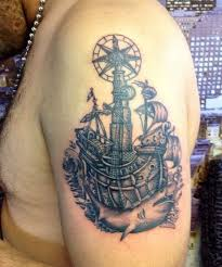 Unsinkable Ships Sink Tattoo by Old Black And Grey Ship Tattoo Ink Asylum Tattoo Own