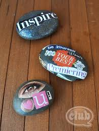 Vision Rocks Magazine Clippings Mod Podge Lovely Much Easier Neater To Display Than A Board